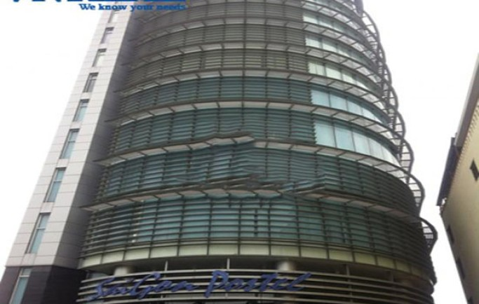 Cho thuê văn phòng quận bình thạnh tại Saigon Postel Building, 170 m2 , lầu 7