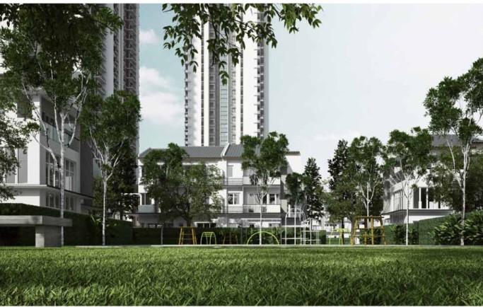 Dự án bất động sản ParkCity Hanoi đang phát triển mạnh