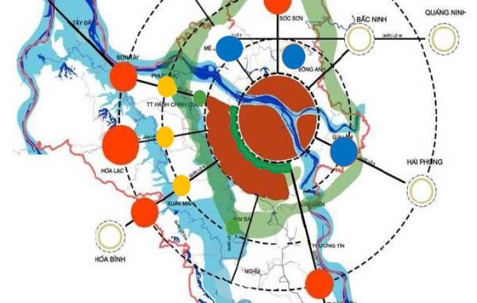 Hà Nội tăng cường đô thị hoá tại 5 khu đô thị vệ tinh