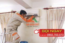Thợ 10 năm chuyên bảo dưỡng điều hòa tại nhà nhanh nhất sau 30 phút
